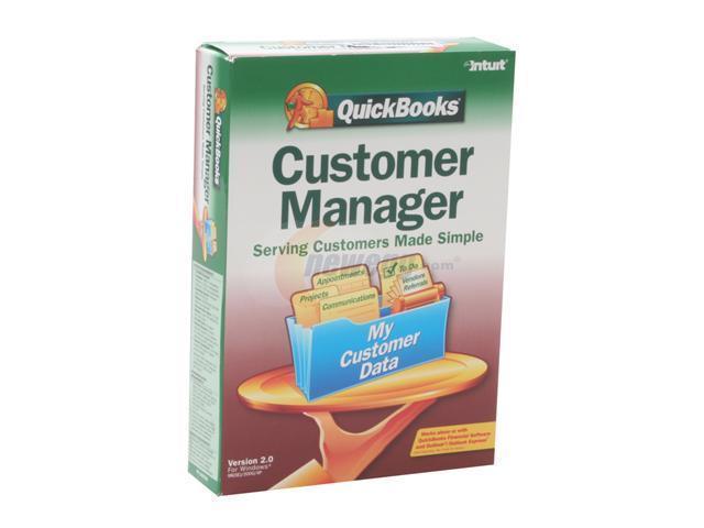 Intuit QuickBooks Customer Manager 2.0 R3 Software - Newegg.com