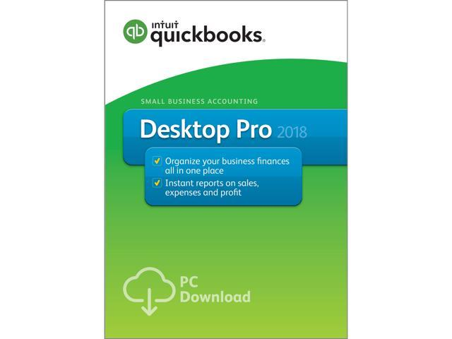 Intuit QuickBooks Desktop Pro Download Neweggcom - Download quickbooks products