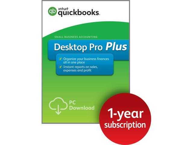Intuit QuickBooks Desktop Pro Plus Download Neweggcom - Download quickbooks products