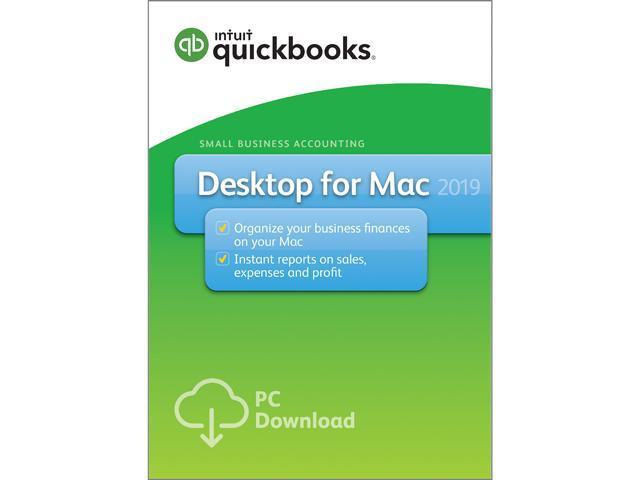 Intuit QuickBooks Desktop for Mac 2019 - Download - Newegg com