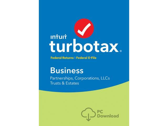 55b111a8fb7 Intuit TurboTax Business 2018 Federal + Efile for Windows - Download [PC  Download]