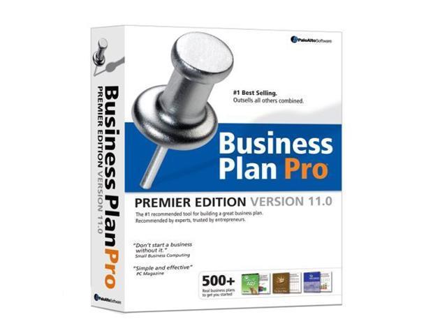 palo alto software business plan pro 11.0 premier edition