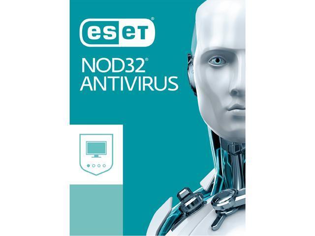 ESET NOD32 Antivirus 2019, 3 PCs 1 Year - Download - Newegg com