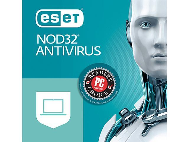 ESET NOD32 Antivirus 2019, 3 PCs (Download)
