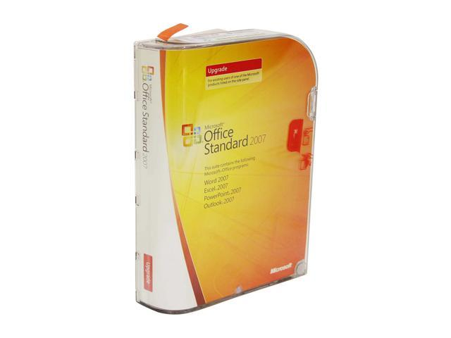 Microsoft Office Standard 2007 Version Upgrade Software - Newegg com