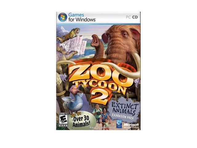 Zoo Tycoon 2: Extinct Animals PC Game - Newegg com