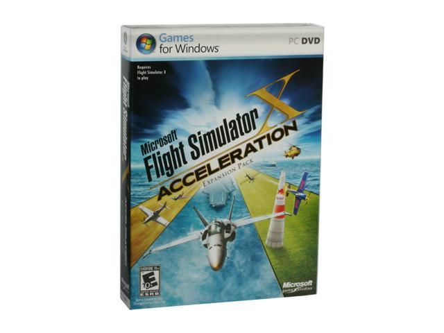 Flight Simulator X Acceleration Expansion Pack PC Game - Newegg com
