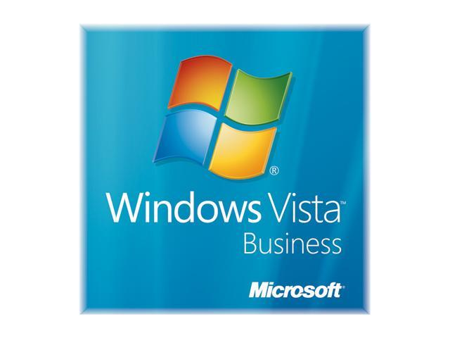 Microsoft Windows Vista Business SP1 64-bit for System Builders DVD