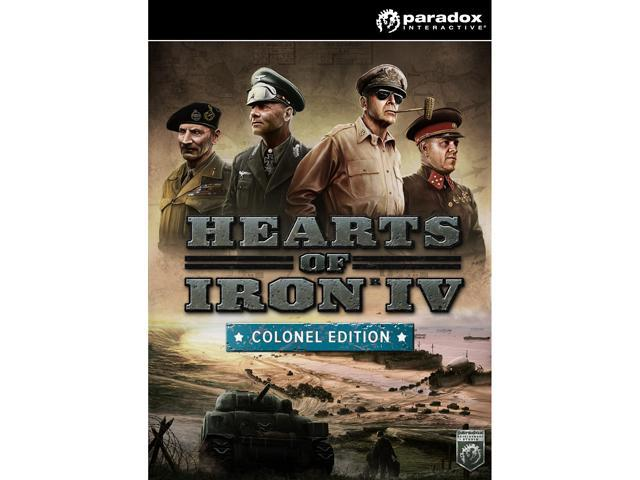 Hearts of Iron IV: Colonel Edition [Online Game Code] - Newegg com