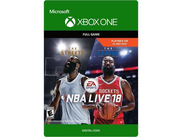 6bc2e2db4 NBA LIVE 18  The One Edition Xbox One  Digital Code  - Newegg.com
