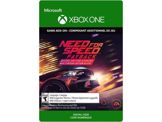 need for speed payback deluxe edition upgrade xbox one. Black Bedroom Furniture Sets. Home Design Ideas