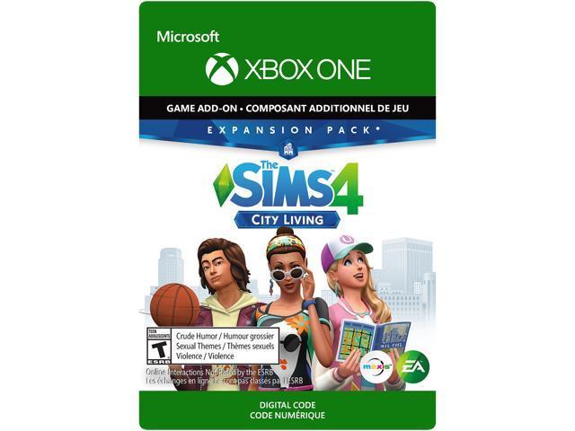The Sims 4 Ep3 City Living Xbox One Digital Code Neweggcom