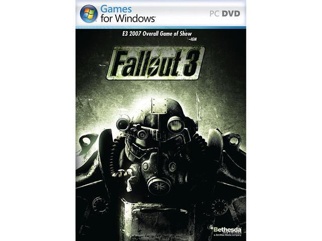 Fallout 3 games for windows live crash