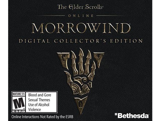 The Elder Scrolls Online - Morrowind Digital Collector's Edition [Online  Game Code] - Newegg com