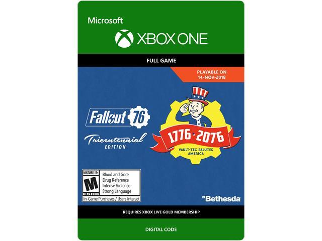 Fallout 76: Tricentennial Edition Xbox One [Digital Code] - Newegg com