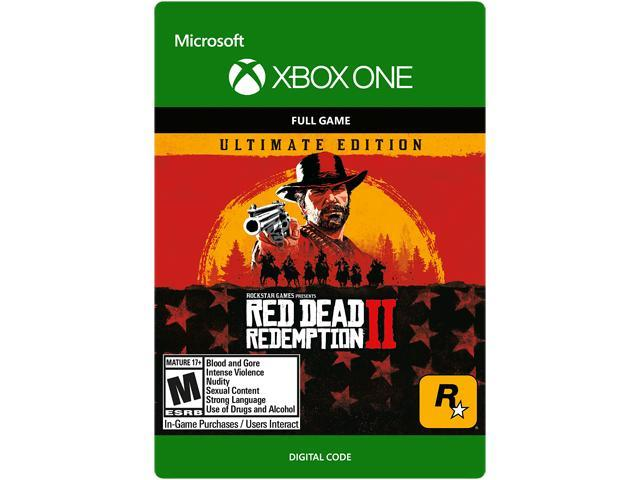 red dead 2 ultimate edition xbox one