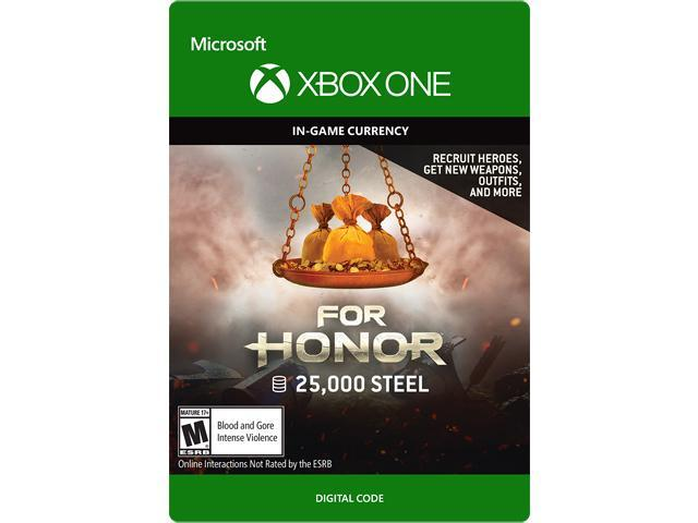 For Honor Currency pack 25000 Steel credits Xbox One [Digital Code] -  Newegg com