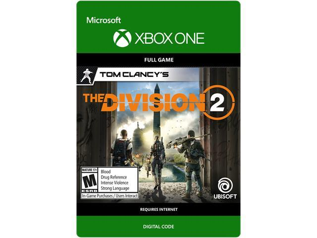 Tom Clancy's The Division 2: Standard Edition Xbox One [Digital Code] -  Newegg com