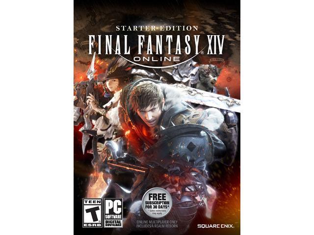 FINAL FANTASY XIV Online Starter Edition PC [Online Game Code] - Newegg com