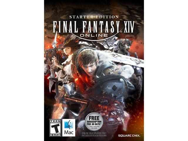 FINAL FANTASY XIV Online Starter Edition for Mac [Online Game Code] -  Newegg com