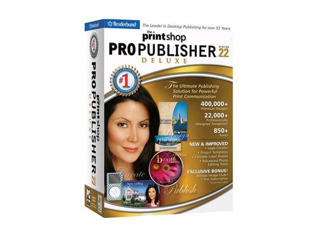 Broderbund PrintShop Professional 4 Print Shop GENUINE GUARANTEE