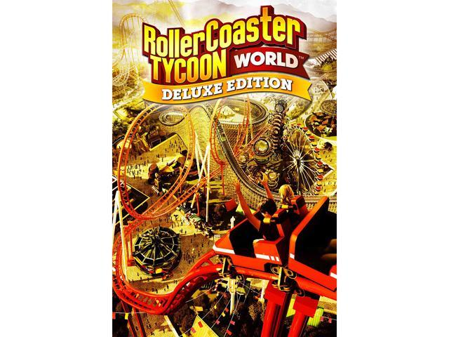 RollerCoaster Tycoon World Deluxe Edition [Online Game Code] - Sale: $4.99 USD (75% off)