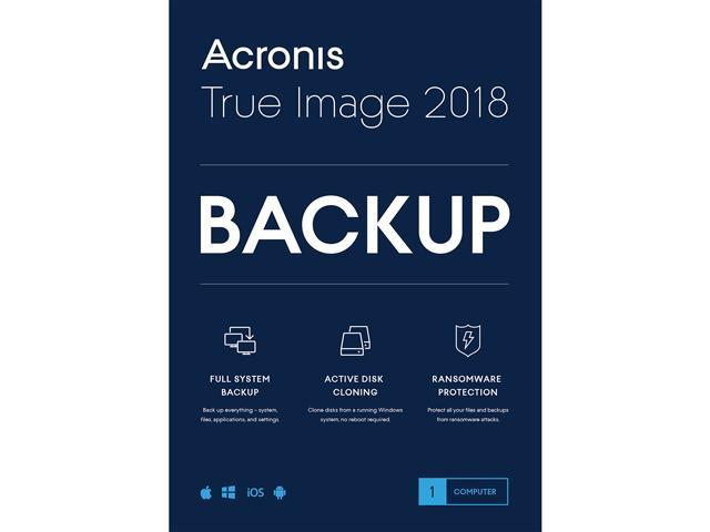 acronis true image 2018 downloads