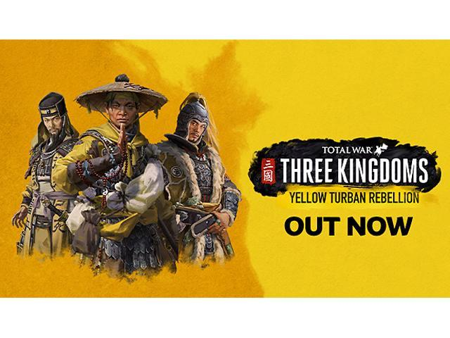 Total War: THREE KINGDOMS - Yellow Turban Rebellion [Online Game Code] -  Newegg com
