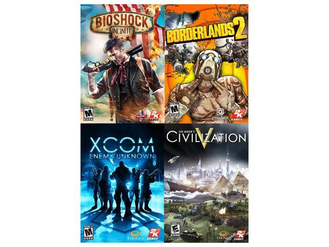 2K AAA Pack BioShock Infinite Borderlands 2 Enemy Unknown Civ V