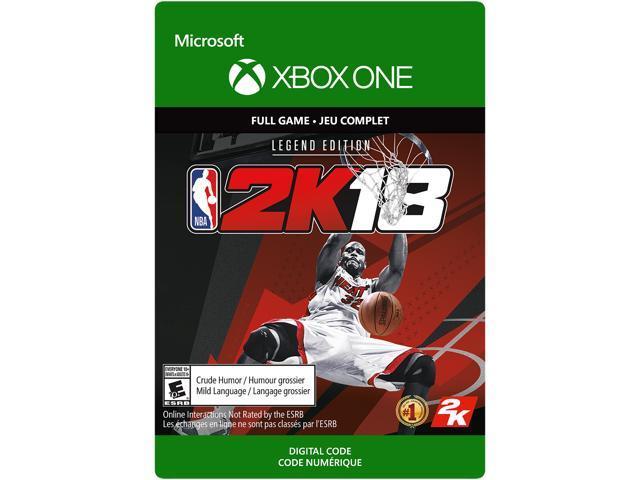 NBA 2K18: Legend Edition Xbox One [Digital Code] - Newegg com