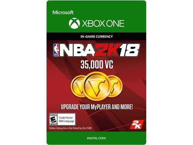 NBA 2K18: 35,000 VC Xbox One [Digital Code] - Newegg com