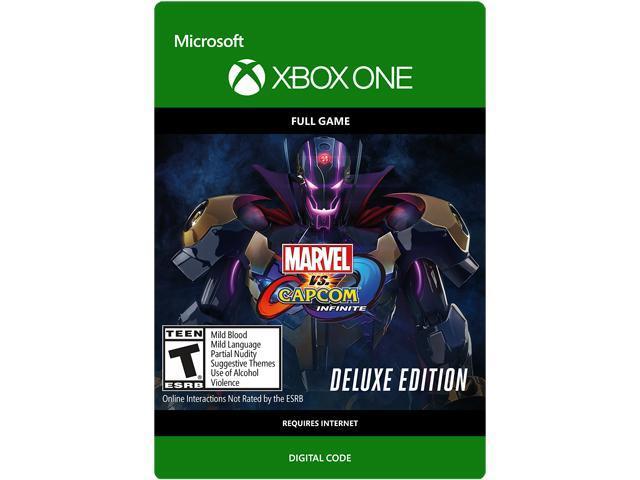 Marvel vs Capcom: Infinite - Deluxe Edition Xbox One [Digital Code] -  Newegg com