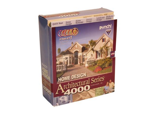 Punch! Software Home Design Architectural Series 4000 V10