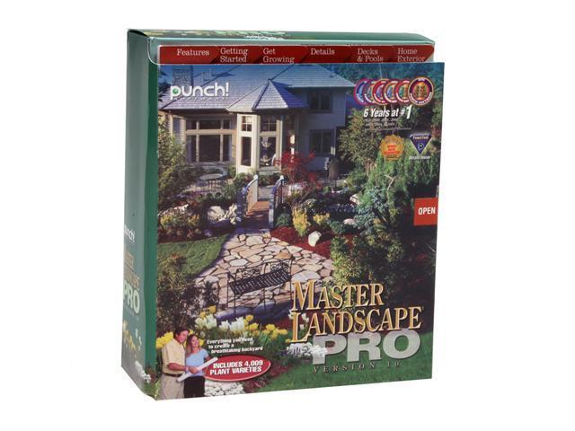 Punch software master landscape pro v10 and home design - Punch software home and landscape design ...