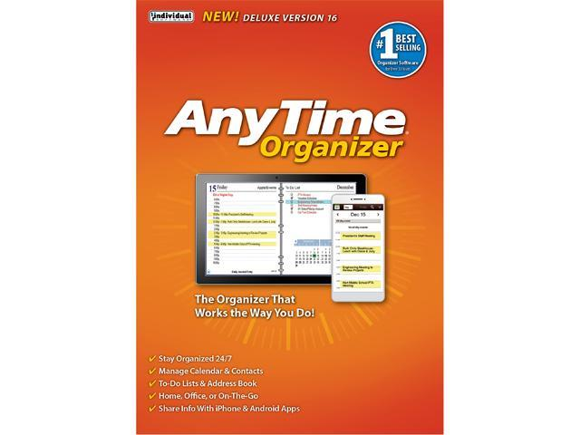 Individual Software AnyTime Organizer Deluxe 16