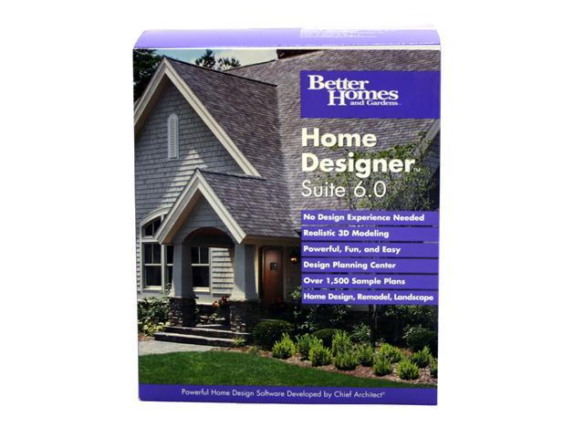 Chief Architect Better Homes And Gardens Home Designer Suite 6.0
