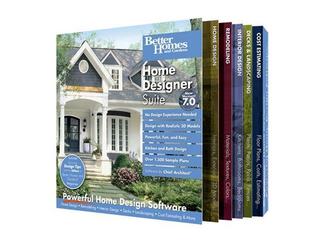 Better Homes and Gardens Home Designer Suite 7.0 Software - Newegg.com