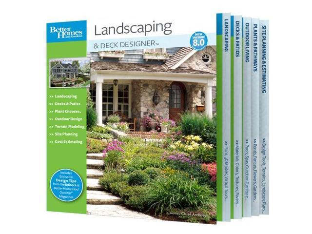 Chief Architect Better Homes And Gardens Landscaping And Deck
