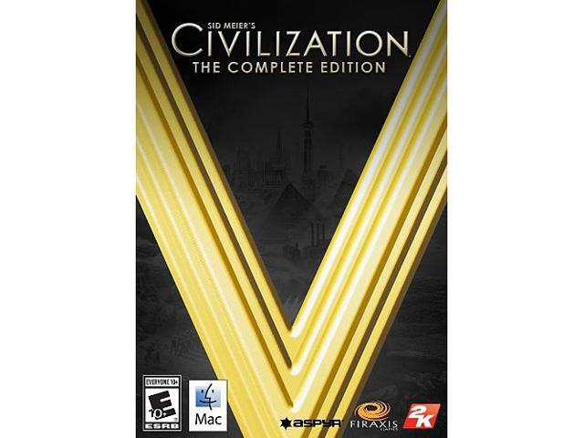 Sid Meier's Civilization V: The Complete Edition (MAC) [Online Game Code]