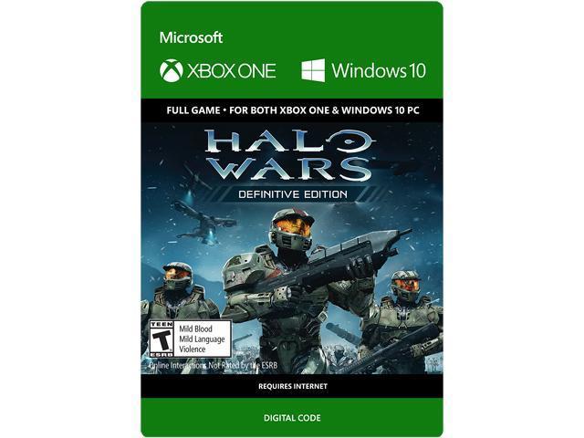 Halo Wars: Definitive Edition Xbox One/Windows 10 [Digital Code] -  Newegg com