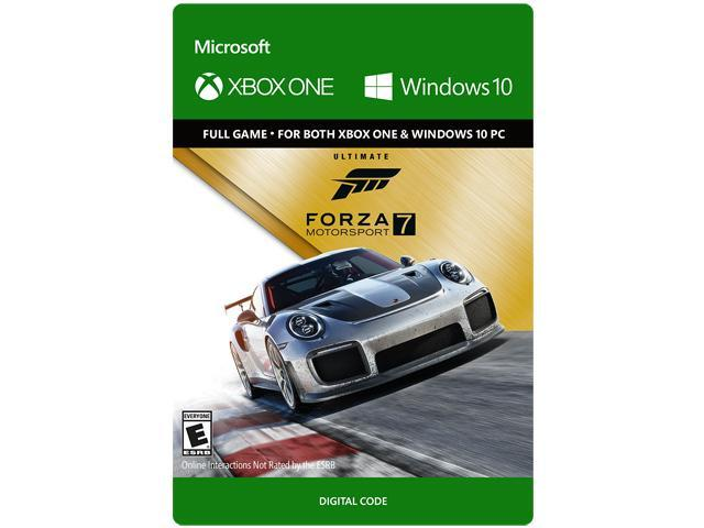 Forza Motorsport 7 Ultimate Edition Xbox One Windows 10 Digital Code