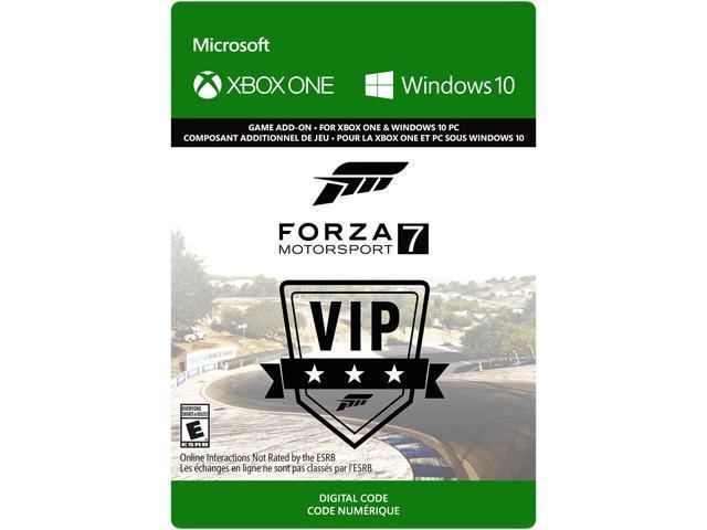 Forza Motorsport 7: VIP Membership Xbox One / Windows 10 [Digital Code] -  Newegg com
