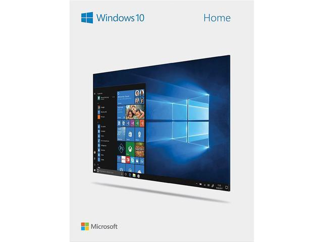 Windows 10 Home - Full Version 32 & 64-bit (USB Flash Drive)