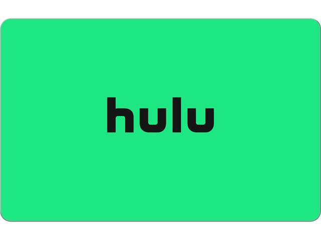 Hulu 50 00 Gift Card Email Delivery Newegg Com