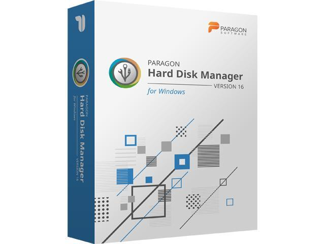 what is paragon hard disk manager