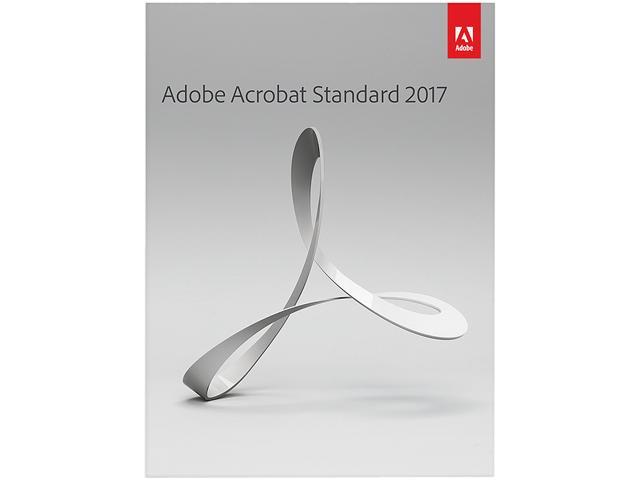 Adobe Acrobat Standard 2017 for Windows - Newegg com