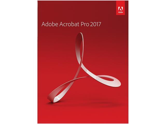Adobe Acrobat Professional 2017 For Windows