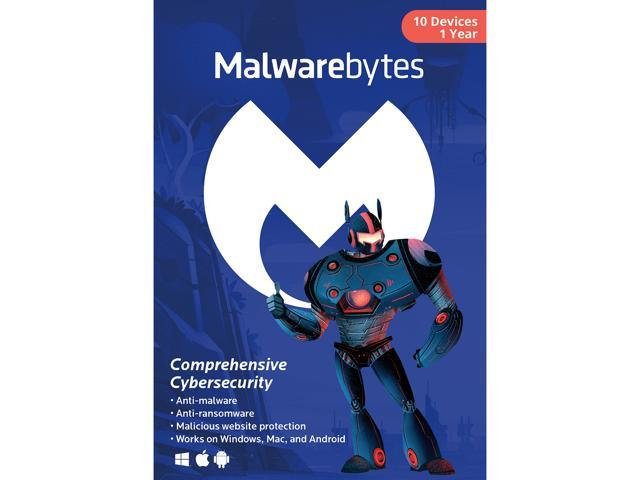 Malwarebytes Anti-Malware 3.0 - 10 Device / 1 Year [Key Card]