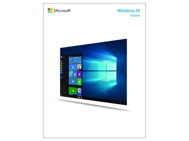 microsoft windows 10 home - full product package