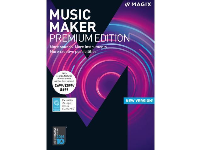 MAGIX Music Maker 2018 - Premium Edition - Newegg com